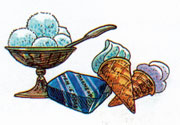 текст галоши +и мороженое