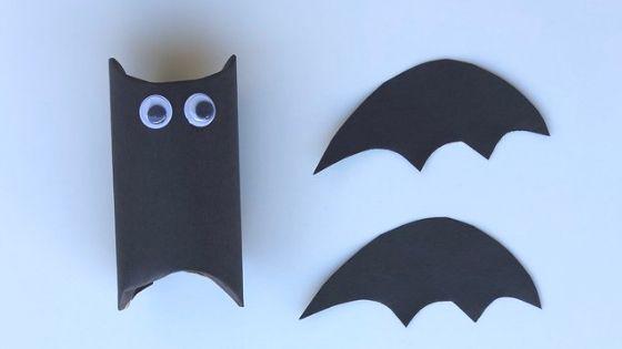 как сделать из бумаги летучую мышь