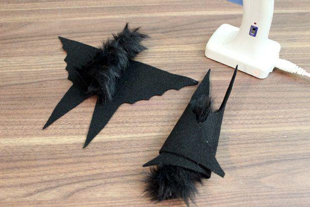 как сделать летучую мышь
