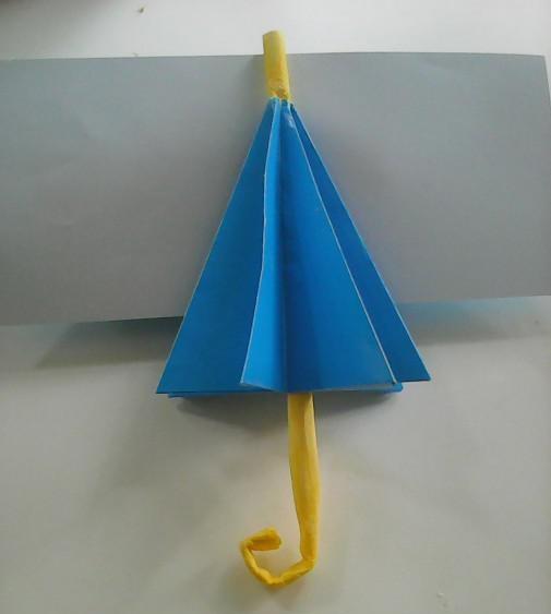 детская поделка зонтик