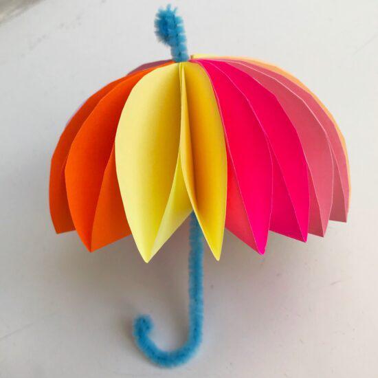 поделка зонт