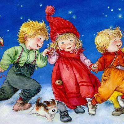 Рождественские песни для детей