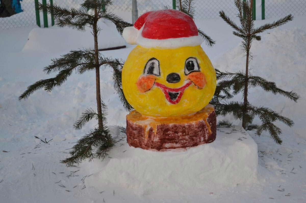 поделки со снегом
