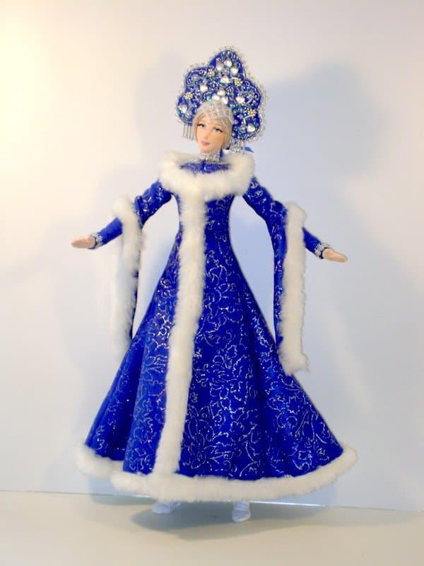 снегурочка из куклы барби