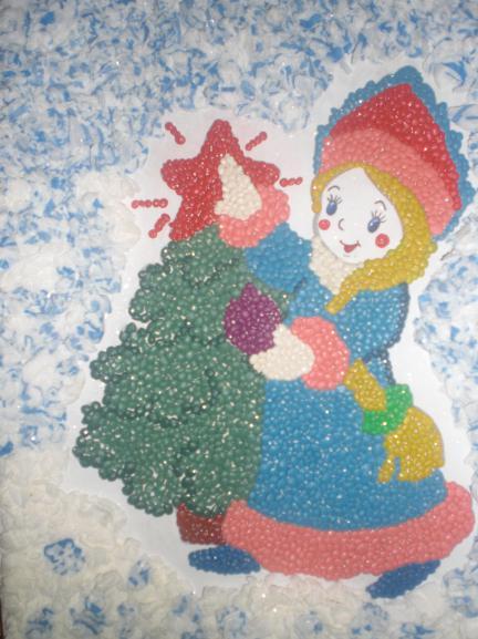 как сделать снегурочку своими руками