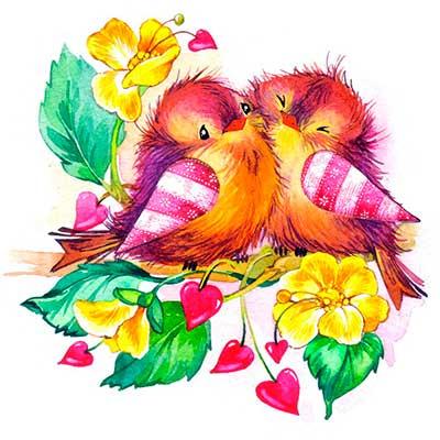 Песни про птиц