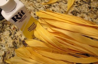 поделка кукуруза