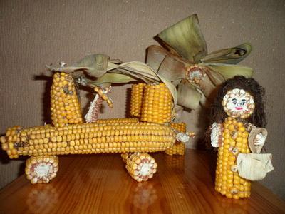 поделки их початков кукурузы