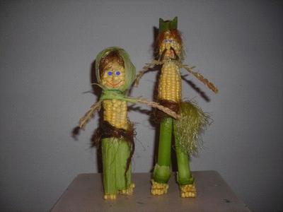 Идеи поделок из кукурузы