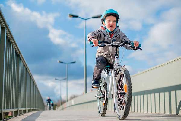 как быстро научить ребенка на велосипеде