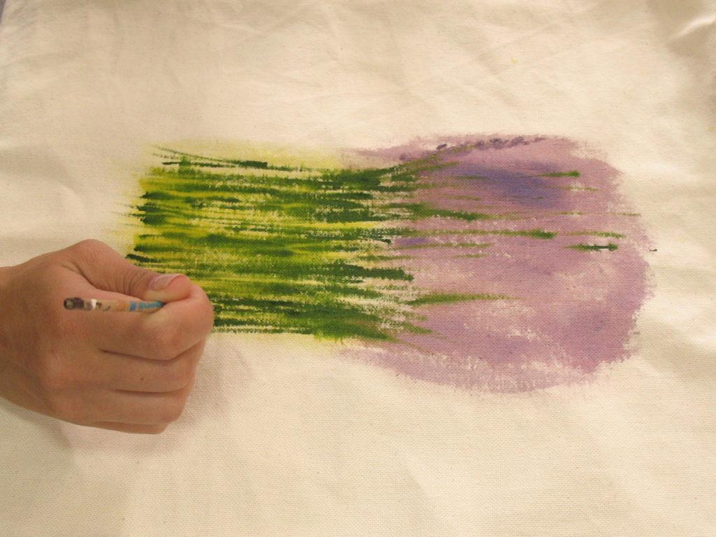 как нарисовать цветок лаванды