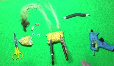 поделки из кукурузы для детей
