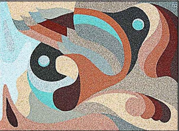 поделки из цветного песка