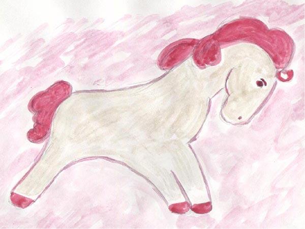 конь с розовой гривой читать полностью