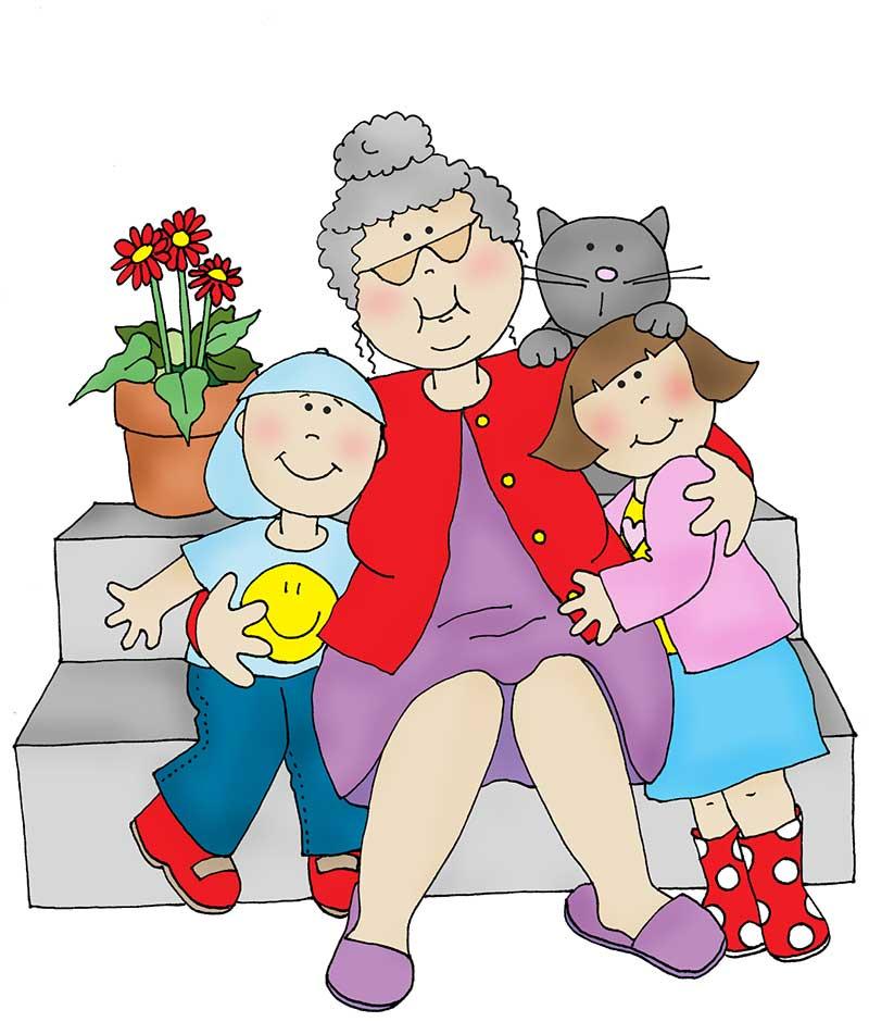 стихи про внуков от бабушки
