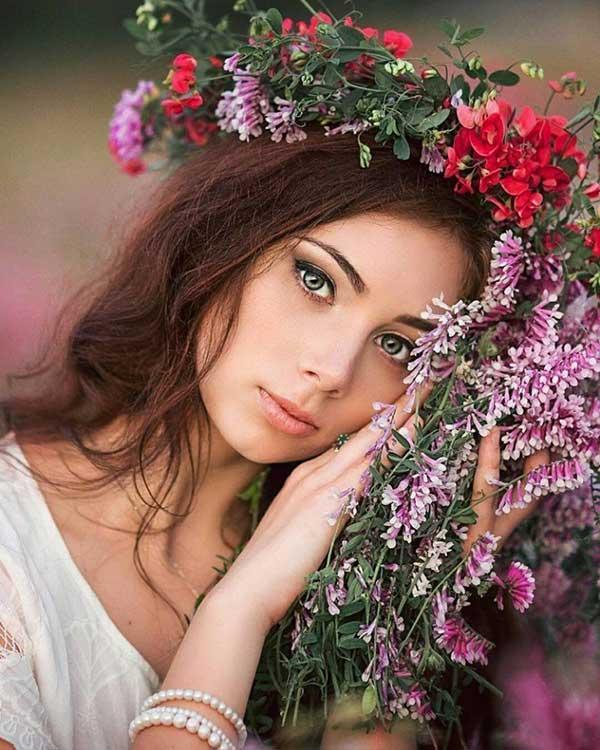 Стих про красоту девушки