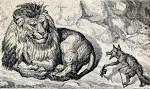 Лягушка-обманщица Львица и Лиса Лягушки, просящие царя