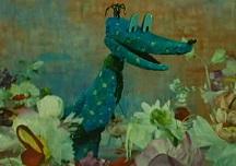 Мой зеленый крокодил