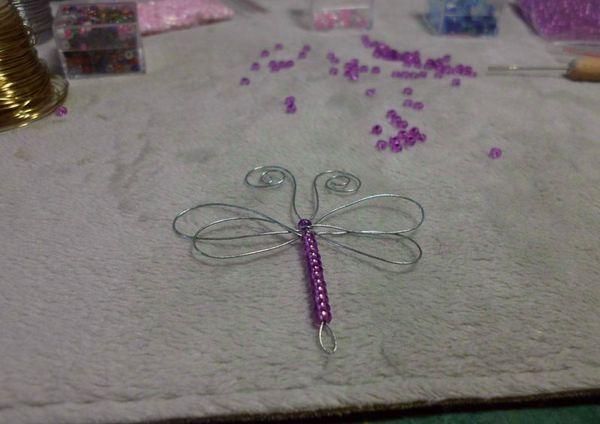 Формирование бабочки