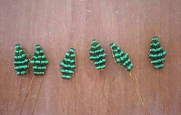 6 зеленых частей