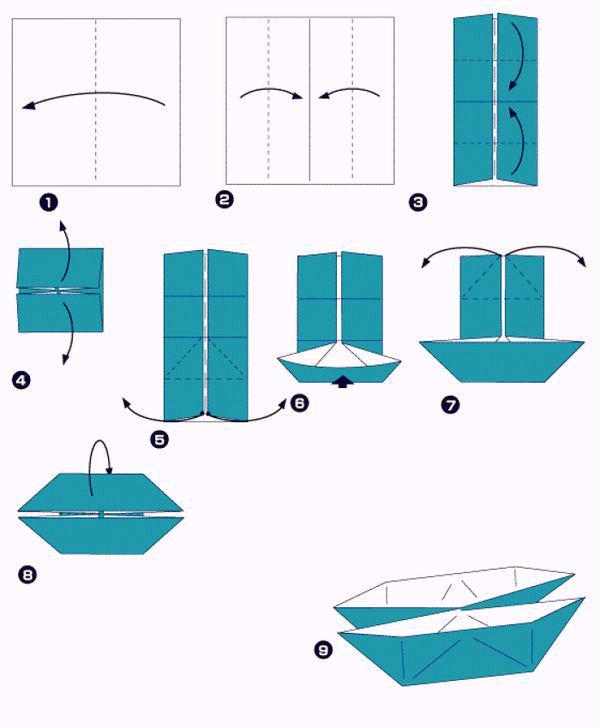 Как сделать плот из бумаги 1 класс технология 115