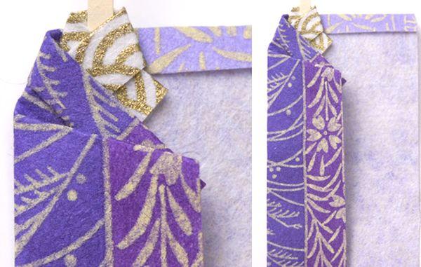 воротник японского одеяния кимоно