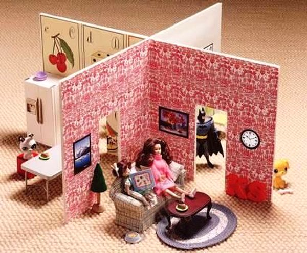 Мебель для куклы своими руками