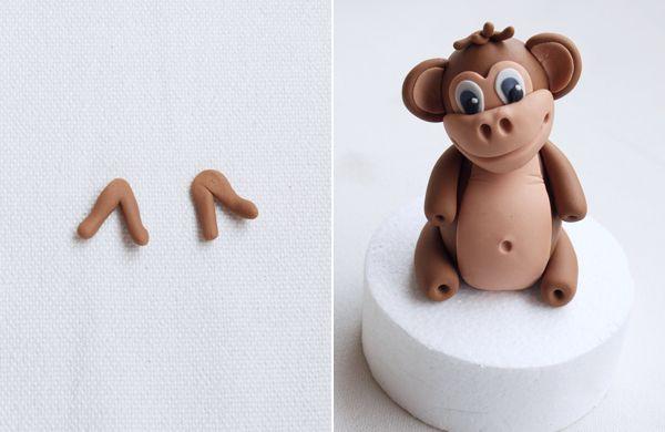 Челка обезьянки