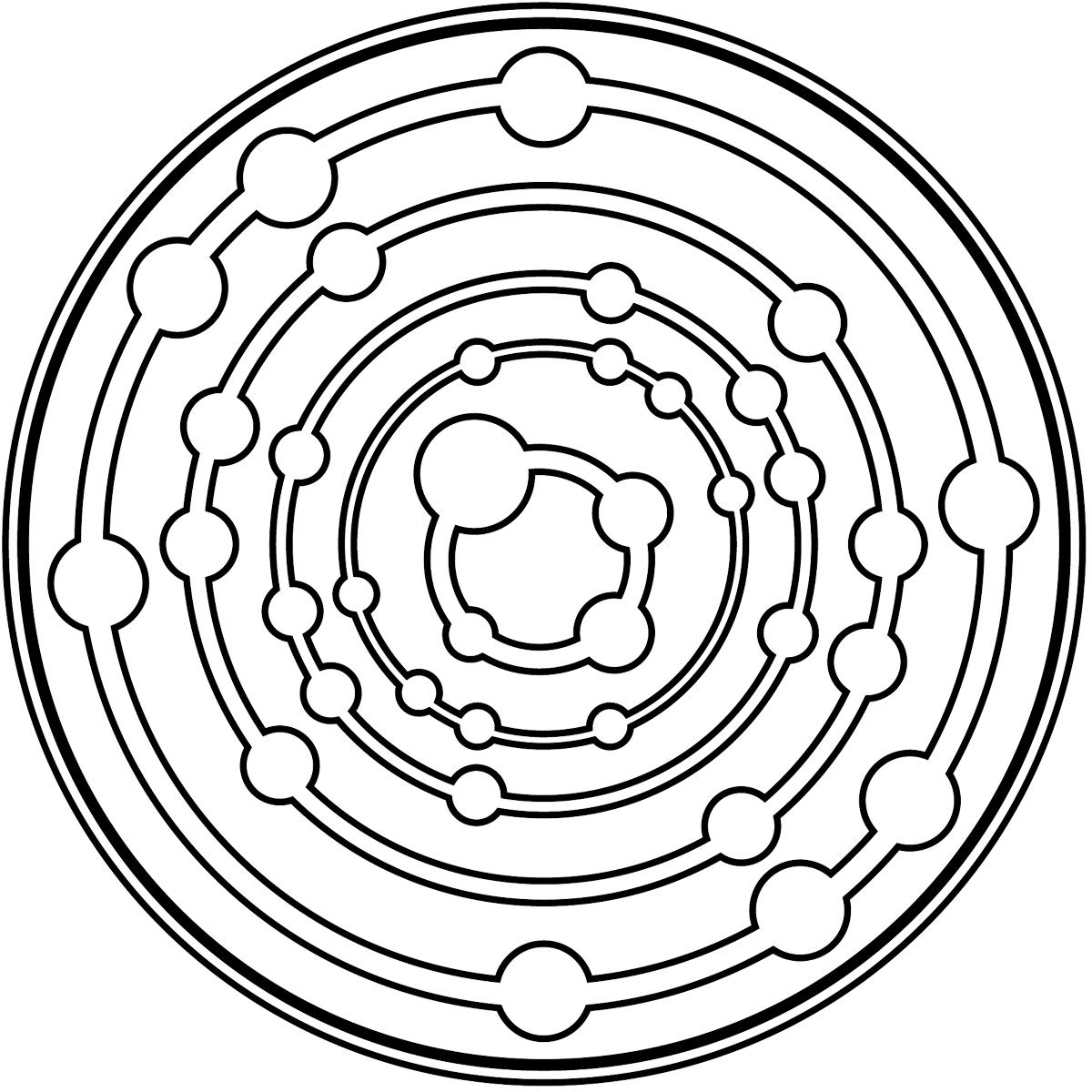 Раскраска Зендала Космос распечатать или скачать бесплатно