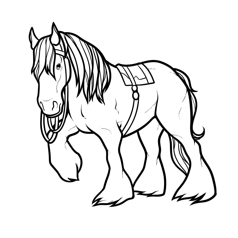 вовсе распечатать изображение коня первого брака