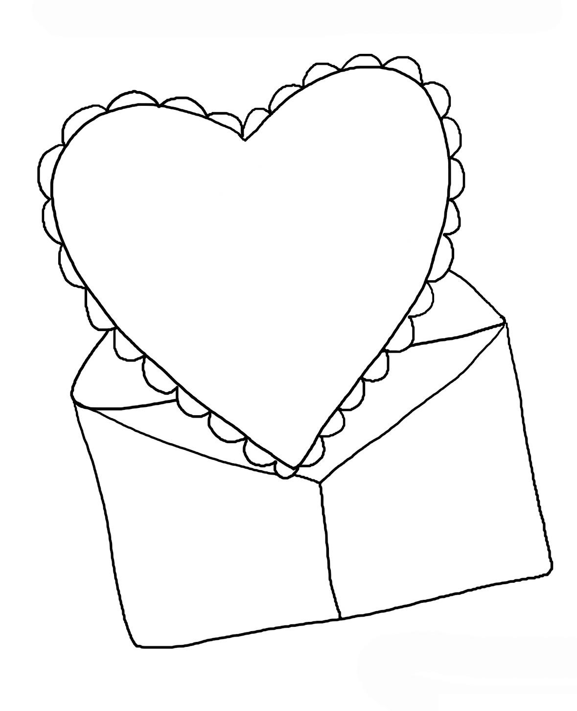 святом как нарисовать открытку на день рождения сердце задумку