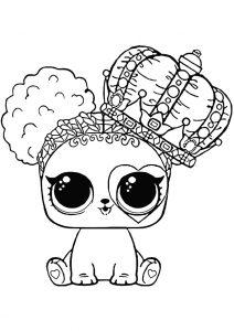 Раскраски куколок ЛОЛ. 80 Чёрно-белых картинок. Скачайте бесплатно! | 300x212