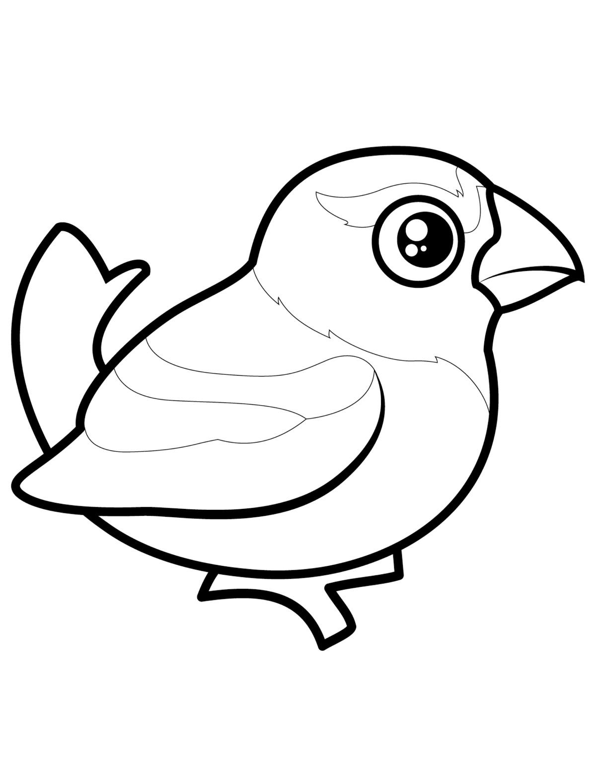 картинки птичек для раскраски связано как