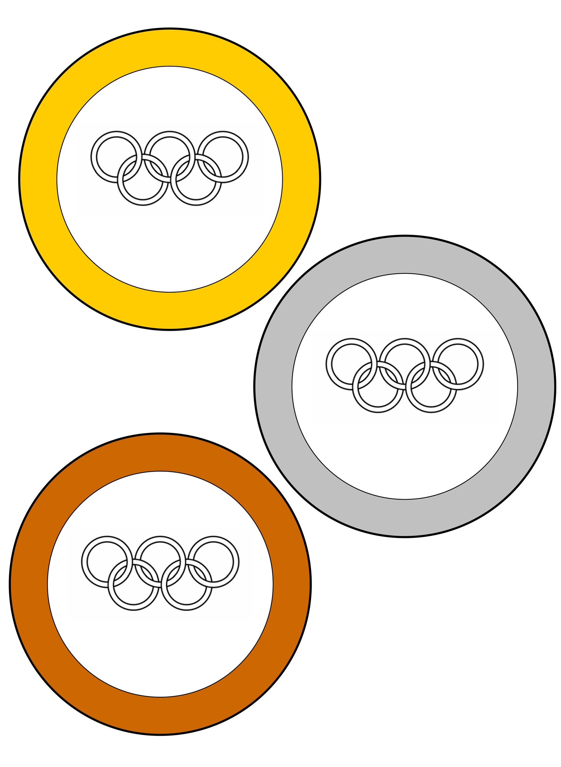 уверены, олимпийские кольца для раскрашивания зеленоцветные красиво