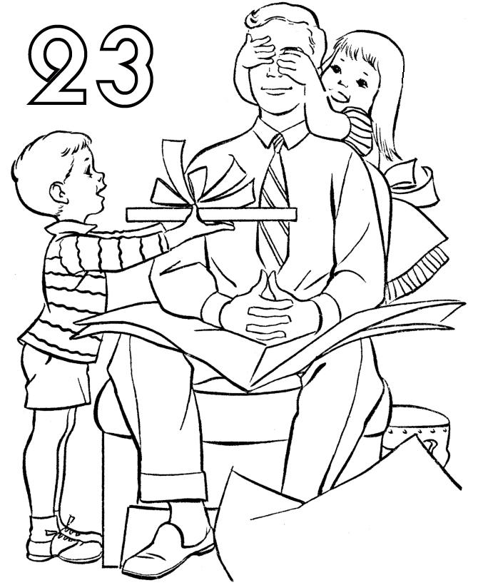 Раскраски на 23 февраля ко дню защитника Отечества. Распечатайте! | 820x670