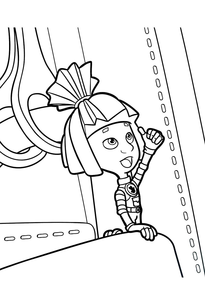 Раскраска Симка на кодовом замке распечатать или скачать ...