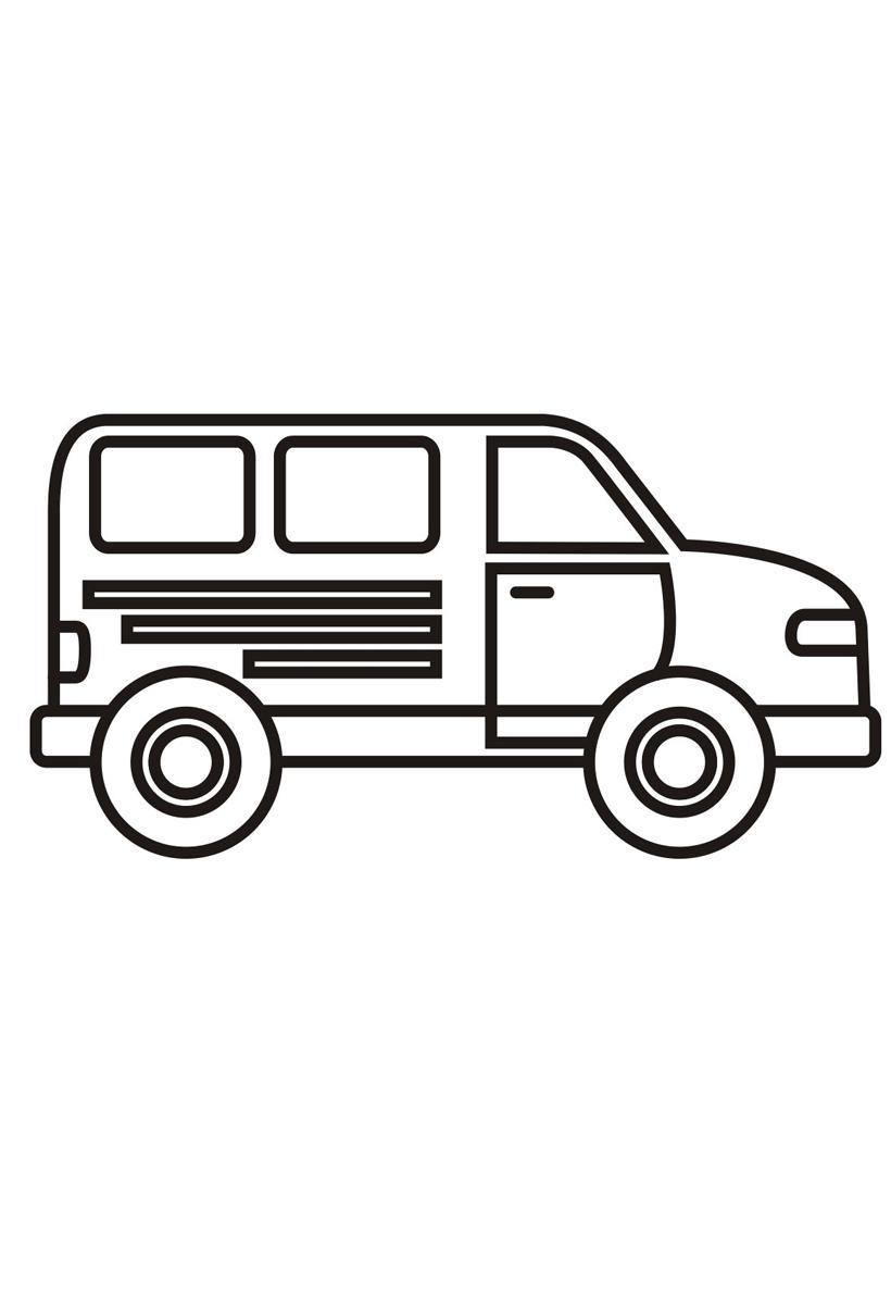 Раскраска Грузовик распечатать или скачать бесплатно
