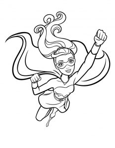 Раскраски Барби: Супер Принцесса распечатать или скачать ...