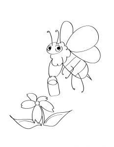 Раскраска Весна для малышей распечатать или скачать бесплатно
