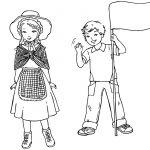 Дети в традиционных костюмах