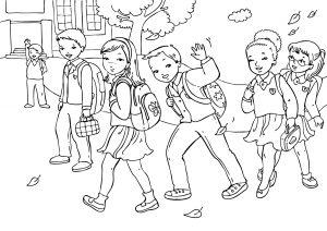 Раскраска Любимый учитель распечатать или скачать бесплатно