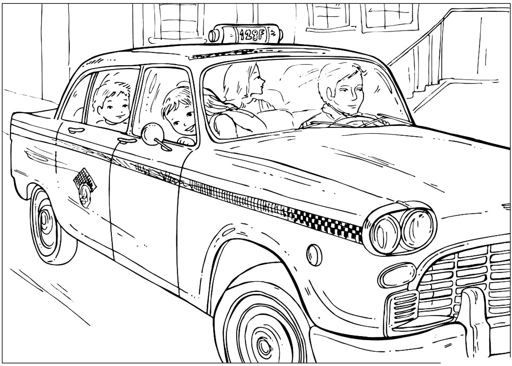раскраска советские автомобили поющие пушистики, которые