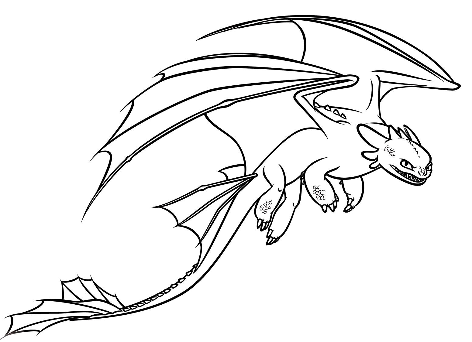 Раскраска Злобный дракон распечатать или скачать бесплатно