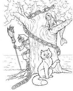 раскраски коты кошки и котята распечатать или скачать бесплатно