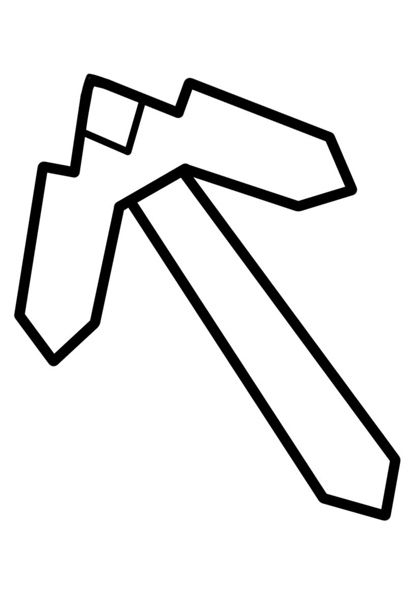 Раскраска Кирка распечатать или скачать бесплатно