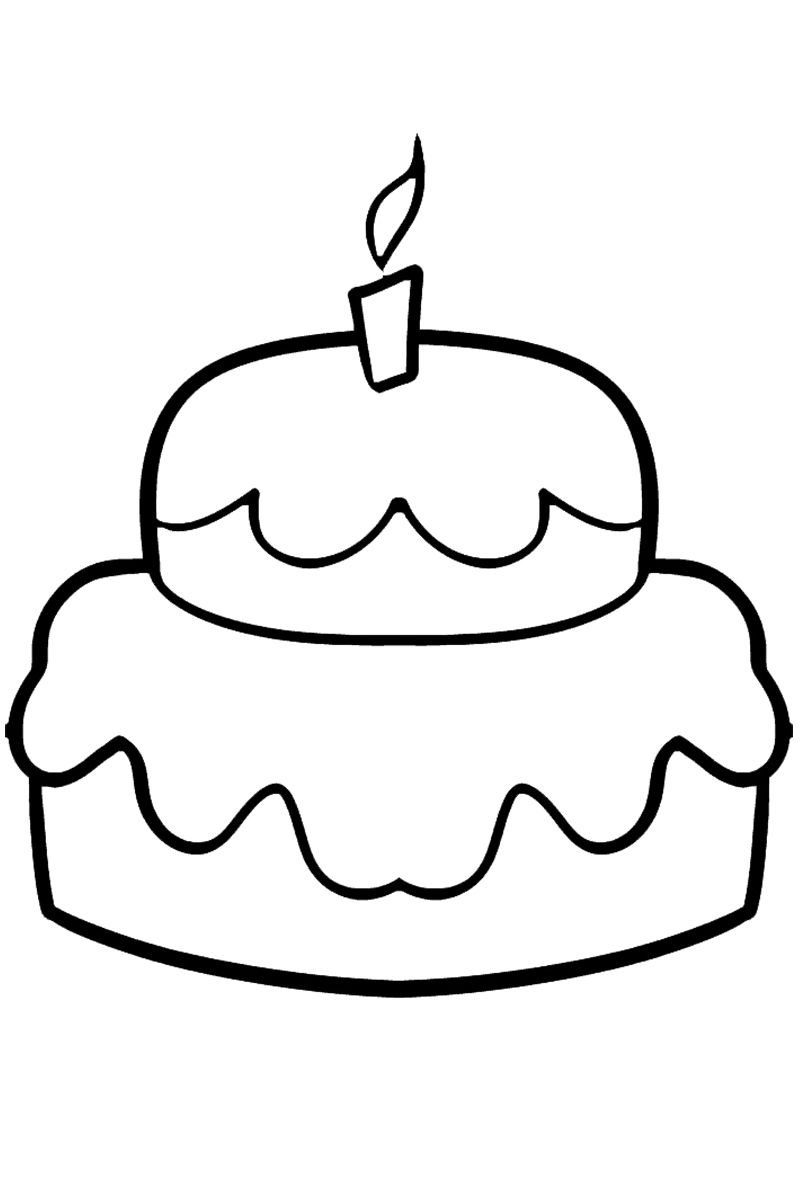 раскраска пирожок распечатать или скачать бесплатно