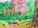 Сказка о курае